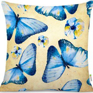 Forclaire Polštář boho Motýli