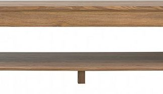 BRW Konferenční stolek Bergen LAW/ - modřín sibiu zlatý