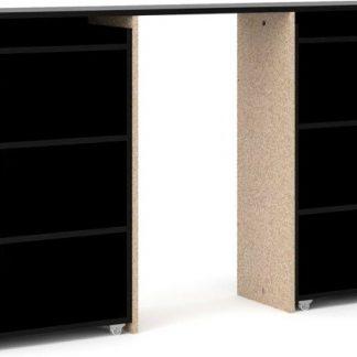 Falco Čelo postele Simplicity 134 šíře 160 cm černé MAT