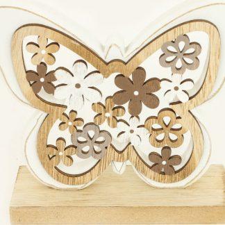 Autronic Dřevěná dekorace KLA03