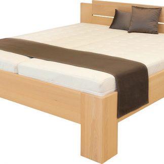 Ahorn Dvoulůžková postel Grado - buk 160x200