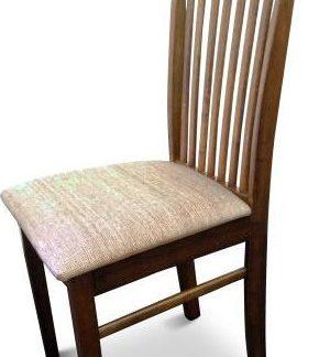 Tempo Kondela Židle ASTRO NEW - ořech / světlehnědá látka + kupón KONDELA10 na okamžitou slevu 3% (kupón uplatníte v košíku)