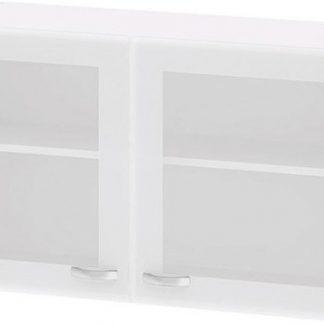 Falco Kuchyňská skříňka Cassie 518 bílá/sklo