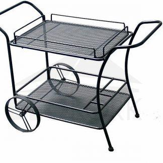 Deokork Kovový servírovací vozík