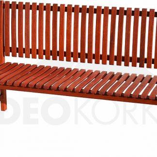 Deokork Zahradní lavice pevná třímístná LYON
