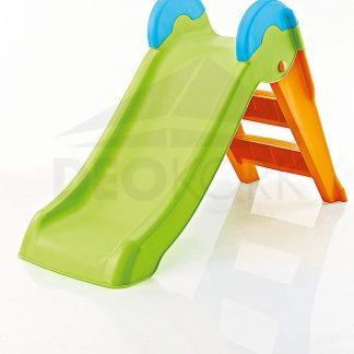Deokork Dětská skluzavka (zeleno-oranžová)