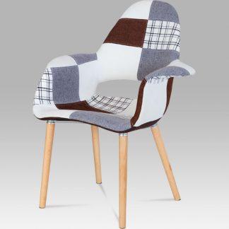 Autronic Jídelní židle CT-734 PW2 patchwork