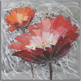 Autronic Obraz - červený květ DOR039