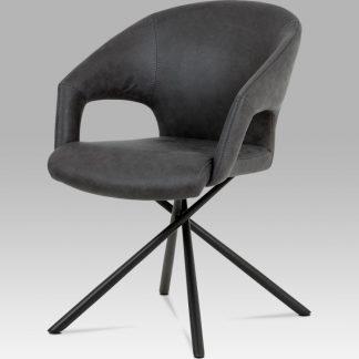 Autronic Jídelní židle HC-784 GREY3 šedá