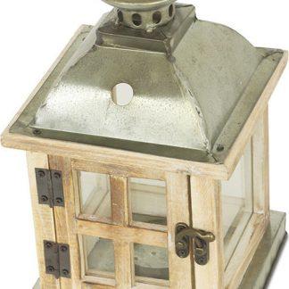 Autronic Dřevěná lucerna DT1632