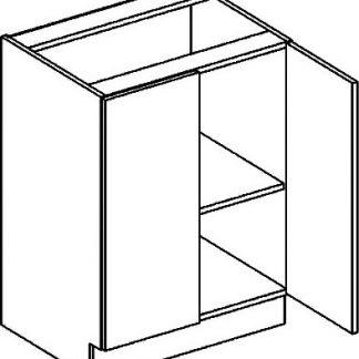Casarredo D dolní skříňka dvojdvéřová PREMIUM de LUX olše