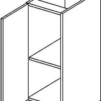 Casarredo DL dolní skříňka jednodvéřová PREMIUM de LUX olše
