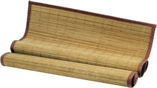 Autronic Rohož za postel bambusová TH-C023-BR - barva hnědá